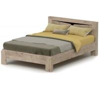 Кровать Соренто 200x140 дуб бонифаций