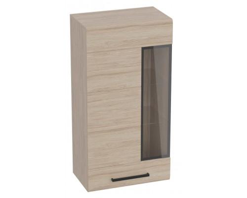 Шкаф-витрина Кёльн, дуб сонома 595x335x1145