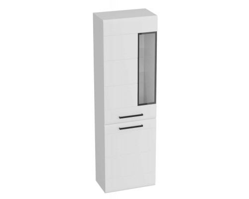 Шкаф-витрина Кёльн 1960, белый аляска / белый глянец 595x335x1960