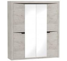 Соренто спальня шкаф 4х дверный 1965х545х2200 Дуб бонифаций