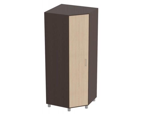 Угловой шкаф Лима 830x830x2060 Венге / Дуб молочный