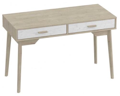 Письменный стол Калгари 1200x540x770 Айс 06 / Дуб натуральный светлый