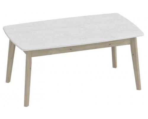Журнальный столик Калгари 1000x580x460 Айс 06 / Дуб натуральный светлый